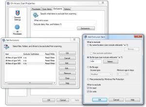 McAfee Visruscan Enterprise beállítása