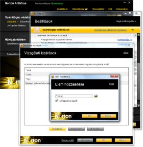 Norton Antivirus 2011 beállítása