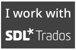 I work with SDL Trados Studio 2021